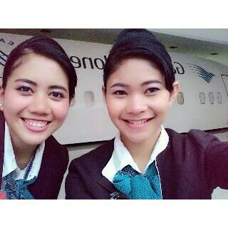 Riska, Alumni PAS Sukses Menjadi Pramugari Garuda Indonesia
