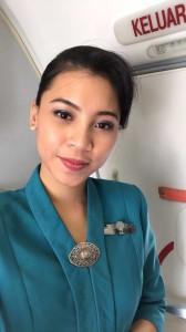 Alumni Lulusan PAS nama Isma sukses berkarier sebagai Pramugari Garuda
