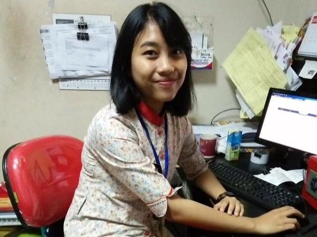 Inung, Lulusan PAS Sukses Menjadi Ground Staff maskapai Sriwijaya Air